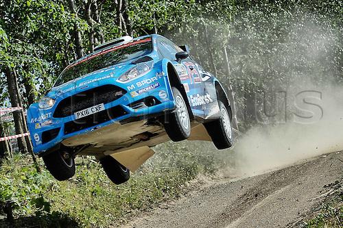 02.07.2016. Mikolajki, Poland. WRC Rally of Poland, stages 12-17.  EVANS