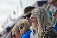 NZL supporters in the stands: 2012 LONDON OLYMPICS (Saturday 28 July 2012) EVENTING DRESSAGE: