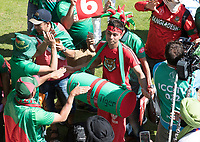 Fans get themselves warmed up in the fanzone with TV crews recording - Pakistan vs Bangladesh, ICC World Cup Cricket at Lord's Cricket Ground on 5th July 2019