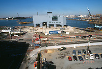 1994 February 28..Redevelopment.Downtown West (A-1-6)..NAUTICUS.CONSTRUCTION PROGRESS.FROM WORLD TRADE CENTER PARKING LOT....NEG#.NRHA#..
