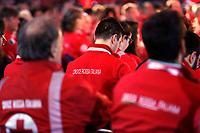 Roma 02/12/2018. Palazzo dei Congressi. L'attrice Sharon Stone riceve la croce d'oro al merito dalla Croce Rossa Italiana durante il Jump 2018.<br /> Rome July 30th 2018. Actress Sharon Stone receives the Gold Medal of Merit from Italian Red Cross during the event Jump 2018.<br /> Foto Samantha Zucchi Insidefoto