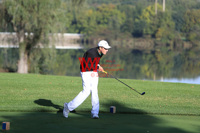 The Eastern Michigan University men's golf team compete at the 2015 Firestone Invitational. <br /> Firestone Golf Club, Akron, OH. October 6, 2015