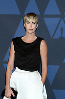 LOS ANGELES - OCT 27:  Charlize Theron at the 11th Annual Governors Awards at the Dolby Theater on October 27, 2019 in Los Angeles, CA