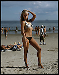 Alisa, 17. Russia by way of Brighton Beach, Brooklyn. Coney Island teen-agers. Summer 2008.