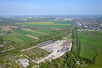 Gleisdreieck Asylanten Wohnungsbau  : EUROPA, DEUTSCHLAND, HAMBURG 11.05.2017: im Bau befindliches Wohngebiet Gleisdreieck Mittlerer Landweg