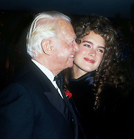 Douglas Fairbanks Jr. Brooke Shields 1983<br /> Photo By John Barrett/PHOTOlink.net