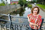 Geraldine Nolan  concerned about the lack of life preserves at the Brewery Road bridge.