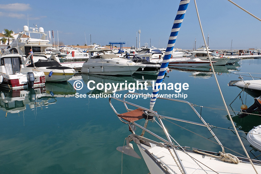 Marina, Puerto Banus, Marbella, Malaga Province, Spain, March 2015, 201503160606<br />