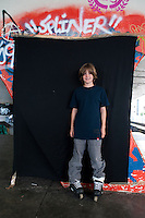 Lucas Wiseman. Adolescents in San Cosme skate park, Mexico City, Mexico.