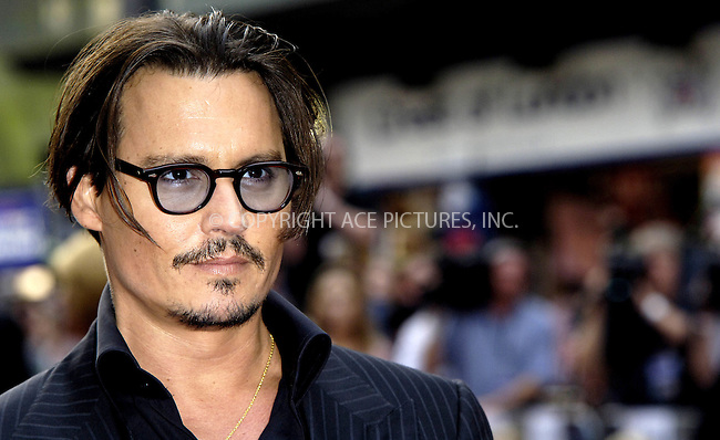 WWW.ACEPIXS.COM . . . . .  ..... . . . . US SALES ONLY . . . . .....June 29 2009, London....Actor Johnny Depp at the UK premiere of 'Public Enemies' at Empire Leicester Square on June 29, 2009 in London, England. ....Please byline: FAMOUS-ACE PICTURES... . . . .  ....Ace Pictures, Inc:  ..tel: (212) 243 8787 or (646) 769 0430..e-mail: info@acepixs.com..web: http://www.acepixs.com