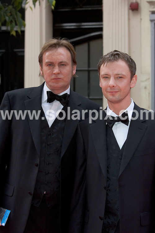 ALL ROUND PICTURES FROM SOLARPIX.COM.**WORLDWIDE RIGHTS*.Celebrities attend the 2007 TV Bafta Awards held at the London Palladium on 20.05.07.  The event was hosted by Graham Norton.  This pic:.Philip Glenister and John Simm..REF:  3966     PRS        DATE: 20.05.07.**MUST CREDIT SOLARPIX.COM OR DOUBLE FEE WILL BE CHARGED* *UNDER NO CIRCUMSTANCES IS THIS IMAGE TO BE REPRODUCED FOR ANY ONLINE EDITION WITHOUT PRIOR PERMISSION*