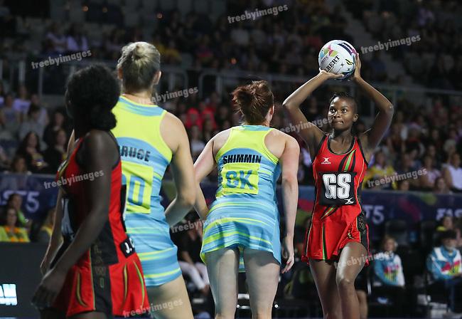 2016 Fast 5 Netball World Series<br /> Game 1<br /> Australia v Malawi