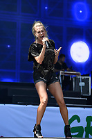 SHEPTON MALLET, ENGLAND - JUNE 29: Carrie Underwood performing at Glastonbury Festival, Worthy Farm, Pilton, on June 29, 2019 in Shepton Mallet, England.<br /> CAP/MAR<br /> ©MAR/Capital Pictures