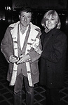 Kim Novak with her husband Robert Malloy at her Hotel on January 17, 1983 in New York City.