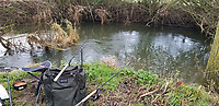 BNPS.co.uk (01202 558833)<br /> Pic: KevinSims/BNPS<br /> <br /> The one that got away...the site on the Chelmer.<br /> <br /> Big fish in a very small fish category misses out on record due to a technicality.<br /> <br /> An accountant used to crunching enormous numbers has now smashed a long-standing British fishing record - for catching the biggest ever minnow.<br /> <br /> Kevin Sims, 55, was stunned when he landed the monster minnow on the river Chelmer in Essex this month.<br /> <br /> Kevin's whopper tipped the scales at a very impressive (In the minnow world) 1oz 4dr, 6.5 dr more than the official record that has stood since 1998.<br /> <br /> However unfortunately Kevin cannot claim the record due to strict regulations and procedures around weighing record fish.