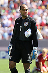 United States' Tim Howard on Sunday, March 25th, 2007 at Raymond James Stadium in Tampa, Florida. The United States Men's National Team defeated Ecuador 3-1 in a men's international friendly.