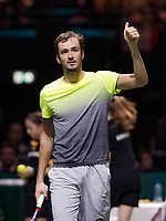 ABNAMRO World Tennis Tournament, 15 Februari, 2018, Rotterdam, The Netherlands, Ahoy, Tennis, Daniil Medvedev (RUS)<br /> <br /> Photo: www.tennisimages.com