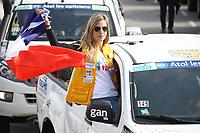 27Ëme Èdition du Rallye 'Aicha des Gazelles' au dÈpart de la ville de Nice, le samedi 18 mars 2017. # DEPART DU RALLYE 'AICHA DES GAZELLES' A NICE