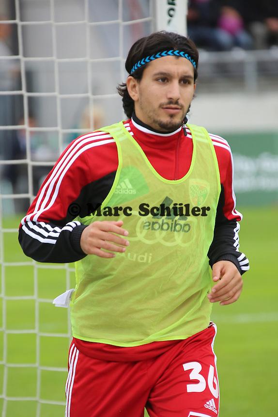 Almog Cohen (Ingolstadt)- FSV Frankfurt vs. FC Ingolstadt, 8. Spieltag, Frankfurter Volksbank Stadion