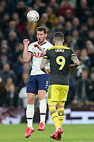 Jan Vertonghen of Tottenham Hotspur and Danny Ings of Southampton during Tottenham Hotspur vs Southampton, Emirates FA Cup Football at Tottenham Hotspur Stadium on 5th February 2020