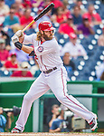 21 May 2014: Washington Nationals outfielder Jayson Werth in action against the Cincinnati Reds at Nationals Park in Washington, DC. The Reds edged out the Nationals 2-1 to take the rubber match of their 3-game series. Mandatory Credit: Ed Wolfstein Photo *** RAW (NEF) Image File Available ***