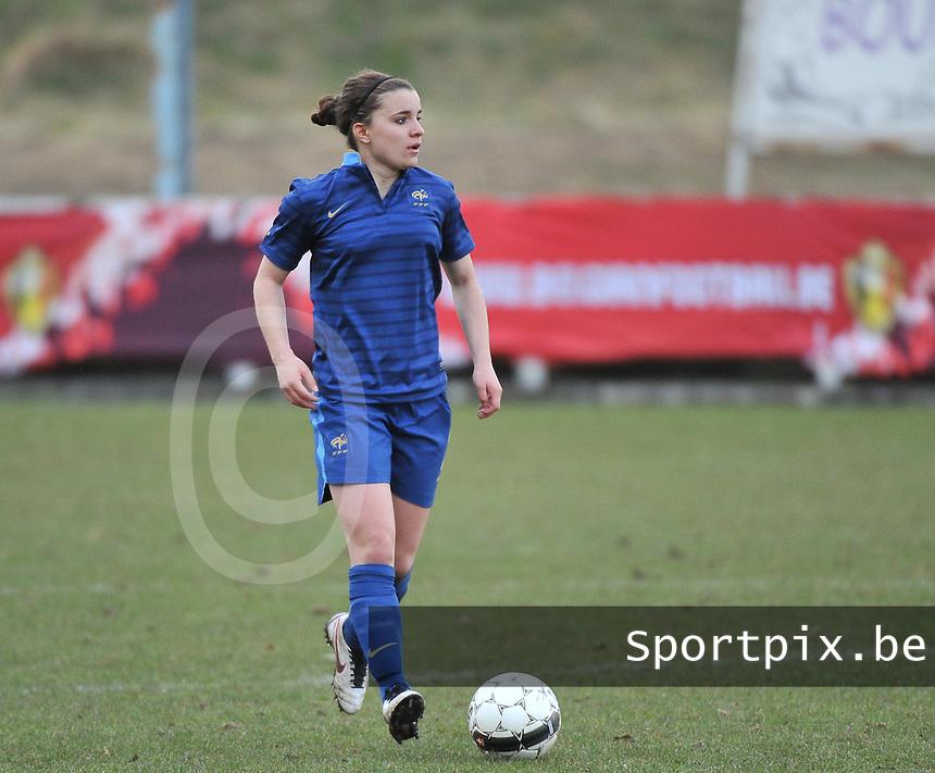 Switzerland U19 - France U19 : Aurélie Gagnet.foto DAVID CATRY / Nikonpro.be
