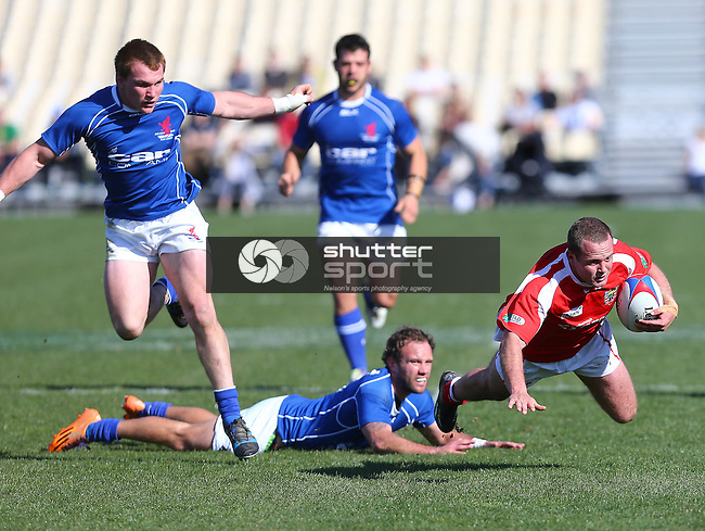 NELSON, NEW ZEALAND - September 5: 2015 Seddon Shield Tasman Griffins v Tasman Red Devils, Trafalgar Park, on September 5, 2015 in Nelson, New Zealand. (Photo by: Evan Barnes Shuttersport Limited)