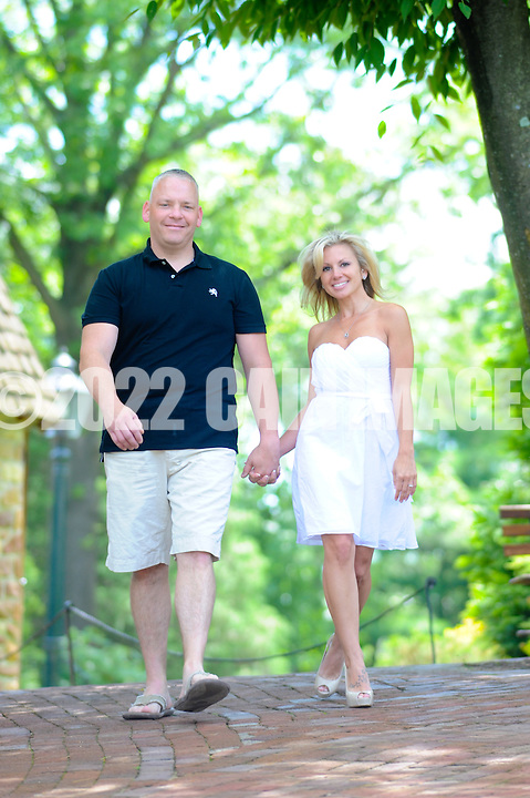 LAHASKA, PA - JUNE 2: Sandy & Don are photographed June 2, 2012 at Peddler's Village in Lahaska, Pennsylvania. (Photo by William Thomas Cain/Cain Images)
