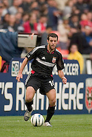 D.C. United's Ben Olsen. DC United defeated the San Jose Earthquakes 2 to 1 during the MLS season opener at RFK Stadium, Washington, DC, on April 3, 2004.