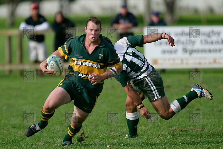Kevin Farrell. Counties Manukau Premier Club Rugby, Pukekohe v Manurewa  played at the Colin Lawrie field, on the 17th of April 2006. Manurewa won 20 - 18.