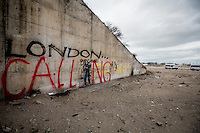 "Banksy: ""The Son of a Migrant from Syria"" (Steve Jobs).<br />