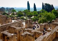 Spanien, Andalusien, bei Córdoba, Madinat al-Zahra: archaeologische Ausgrabungsstaette | Spain, Andalusia, near Córdoba, Madinat al-Zahra: archeological excavation