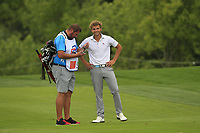 Vojtech Kostelka (AM)(CZE) on the 5th fairway during Round 1 of the D+D Real Czech Masters at the Albatross Golf Resort, Prague, Czech Rep. 31/08/2017<br /> Picture: Golffile | Thos Caffrey<br /> <br /> <br /> All photo usage must carry mandatory copyright credit     (&copy; Golffile | Thos Caffrey)