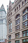 The Custom House Tower and the Flour & Grain Exchange, Boston, MA