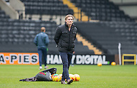 Wycombe Wanderers Manager Gareth Ainsworth before the Sky Bet League 2 match between Notts County and Wycombe Wanderers at Meadow Lane, Nottingham, England on 10 December 2016. Photo by Andy Rowland.