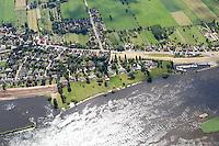 Deutschland, Niedersachsen, Bullenhausen, Elbe, Elbdeich, Aussendeichs, Inge Meisel