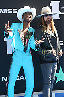 LOS ANGELES, CA - JUNE 23: Lil Nas X and Billy Ray Cyrus at the 2019 BET Awards at the Microsoft Theater in Los Angeles on June 23, 2019. Credit: Faye Sadou/MediaPunch