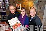 PROGRAMME: Pictured in St John's, Listowel, getting ready for their Christmas programme are l-r: Joe Murphy, Trisha McMahon and Steve Sparks.   Copyright Kerry's Eye 2008