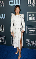 SANTA MONICA, CA - JANUARY 13: Karen Fukuhara attends the 24th annual Critics' Choice Awards at Barker Hangar on January 12, 2020 in Santa Monica, California. <br /> CAP/MPI/IS/CSH<br /> ©CSHIS/MPI/Capital Pictures