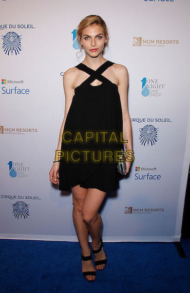 20 March 2015 - Las Vegas, NV -   Karlina Coune.  One Night For One Drop Blue Carpet at The Mirage Hotel and Casino.<br /> CAP/ADM/MJT<br /> &copy; MJT/AdMedia/Capital Pictures