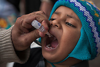 Anti-polio campaign in Pakistan goes on