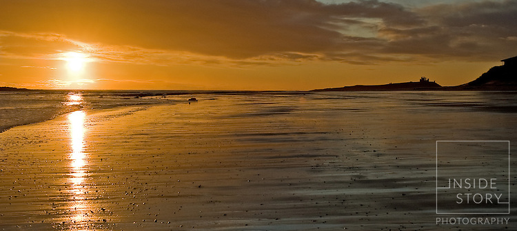 Dawn Low Newton by The Sea Northumberland