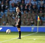 Assistant referee Kylie McMullan