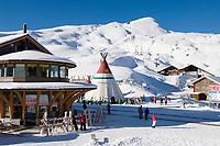 CHE, Schweiz, Kanton Bern, Berner Oberland, Grindelwald: Kleine Scheidegg Wintersportgebiet | CHE, Switzerland, Canton Bern, Bernese Oberland, Grindelwald: Kleine Scheidegg - wintersport region