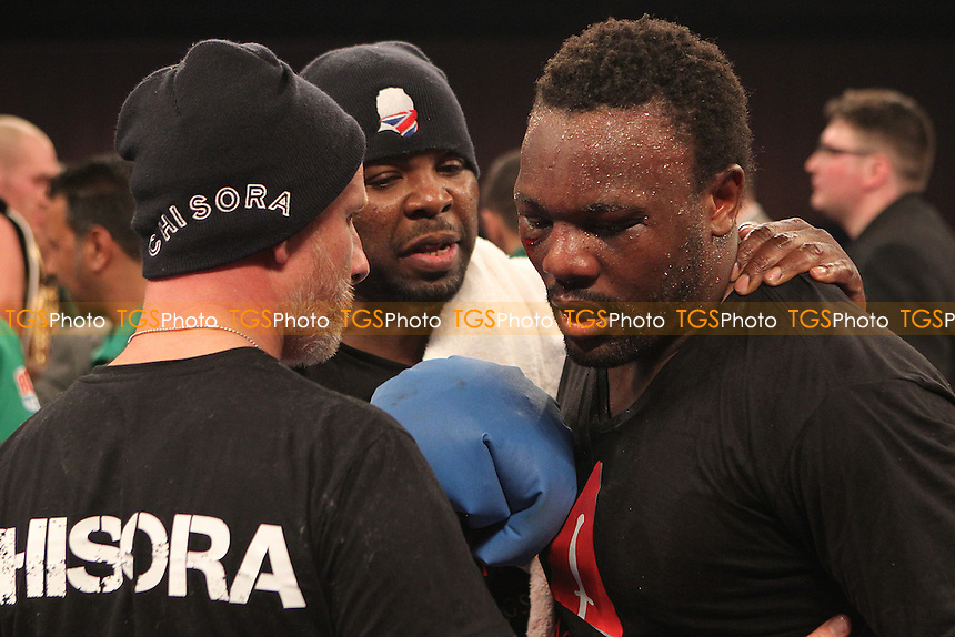 Don Charles - Tyson Fury vs Dereck Chisora- Boxing at the Excel Centre, London, promoted by Frank Warren - 29/11/14 - MANDATORY CREDIT: Chris Royle/TGSPHOTO - Self billing applies where appropriate - contact@tgsphoto.co.uk - NO UNPAID USE