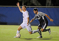 Florida International University men's soccer player Quentin Albrecht (22) plays against Nova University on August 26, 2011 at Miami, Florida. FIU won the game 2-0. .