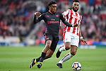 Alex Iwobi of Arsenal during the premier league match at the Britannia Stadium, Stoke. Picture date 19th August 2017. Picture credit should read: Robin Parker/Sportimage