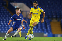 Jake Jervis of AFC Wimbledon in action during Chelsea Under-21 vs AFC Wimbledon, Checkatrade Trophy Football at Stamford Bridge on 4th December 2018