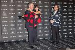 "Alec Baldwin his wife Hilaria Thomas and Santiago Segura attends the ""ICON Magazine AWARDS"" Photocall at Italian Consulate in Madrid, Spain. October 1, 2014. (ALTERPHOTOS/Carlos Dafonte)"