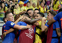 SALVADOR – BRASIL, 15-06-2019: Jugadores de Colombia celebran después de anotar el segundo gol de su equipo durante partido de la Copa América Brasil 2019, grupo B, entre Argentina y Colombia jugado en el Itaipava Fonte Nova Arena de la ciudad de Salvador, Brasil. / Players of Colombia celebrate after scoring the second goal of their team during the Copa America Brazil 2019 group B match between Argentina and Colombia played at Itaipava Fonte Nova Arena in Salvador, Brazil. Photos: VizzorImage / Julian Medina / Cont / FCF